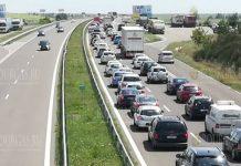 пробки в Болгарии на 1 мая