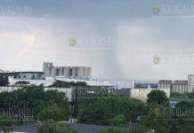 Торнадо пронесся в районе Бургаса