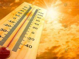 жара в мае в Болгарии