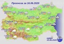 16 июня погода в Болгарии