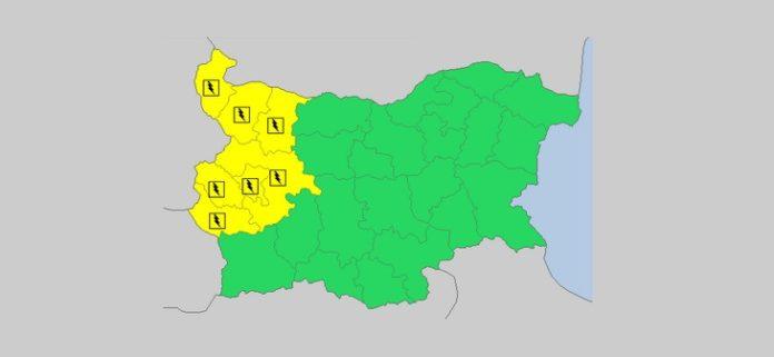 23 июня Желтый код в Болгарии