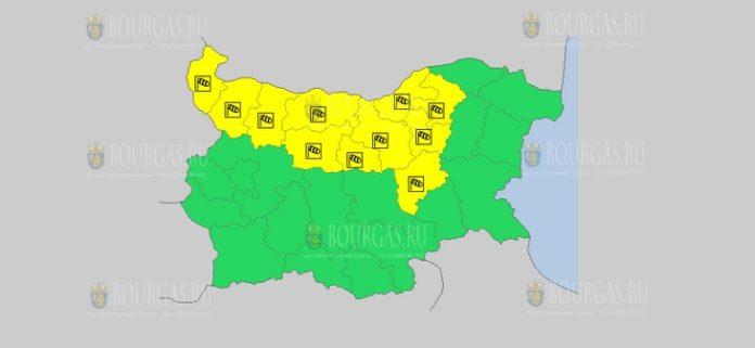 30 июня Желтый код в Болгарии