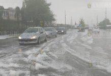 Болгария в июне, дожди и град