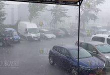 буря в Варне 30-го июня 2020 года