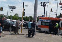 Неадекватный водитель разбил 7 машин на улице в Софии