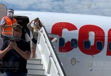 Сегодня аэропорт Бургаса - Сарафово, принял первый международный рейс компании Corendon