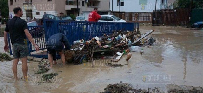 В Болгарии сильные ливни прошли сегодня с утра в Плевенской области