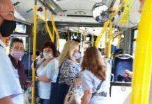 В общественном транспорте в Бургасе проводят проверки ношения масок