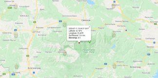 11 июля землетрясение в Болгарии