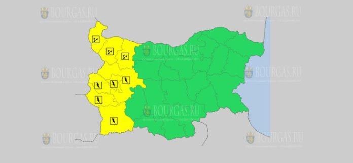 17 июля Желтый код в Болгарии