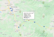 20 июля землетрясение в Болгарии