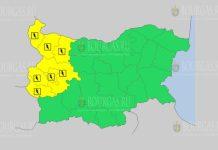 25 июля Желтый код в Болгарии