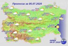 5 июля погода в Болгарии