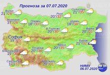 7 июля погода в Болгарии