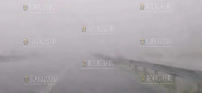 Буря пронеслась в районе пункта перехода Кулата на болгаро-греческой границе