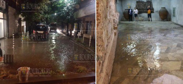 Буря в Софии