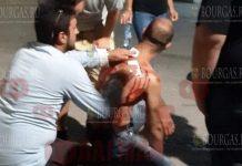 Мужчине в Морском саду в Бургасе нанесли несколько ударов ножом в спину