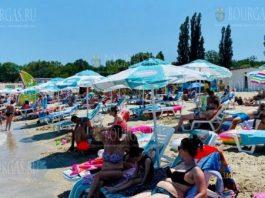 пляж Крайморие Бургас