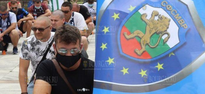 Полицейские Болгарии вышли на акцию протеста