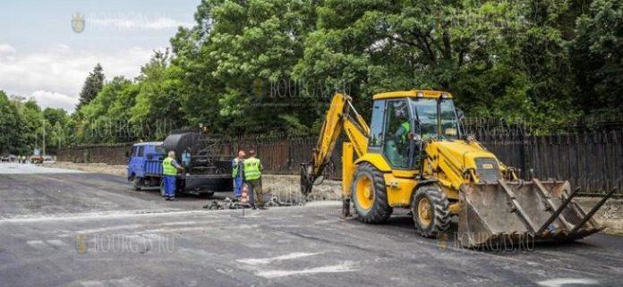 реконструкция бульвара в Софии