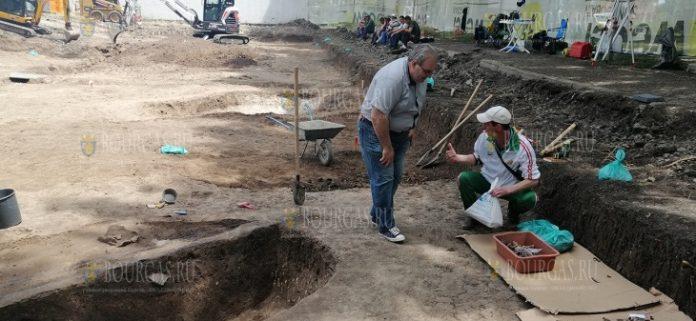 В Болгарии, в Бургасе завершены раскопки фракийского храма в комплексе Изгрев