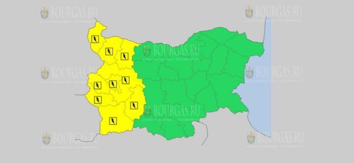 15 августа Желтый код в Болгарии