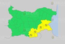 20 августа Желтый код в Болгарии