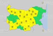 29 августа Желтый код в Болгарии