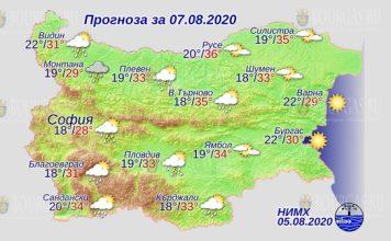 7 августа погода в Болгарии