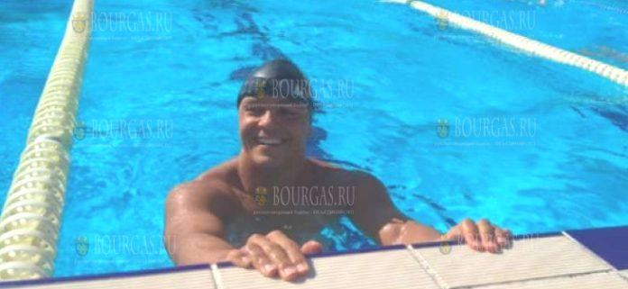Пловец из Бургаса побил мировой рекорд