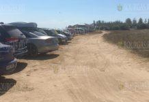 """Туристы снова паркуют свои авто на дюнах в районе пляжа """"Крапец-север"""""""