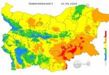 10 сентября пожароопасность в Болгарии