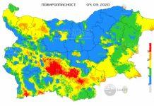 4 сентября пожароопасность в Болгарии