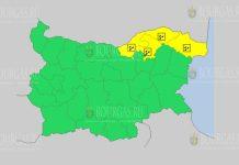 4 сентября Желтый код в Болгарии