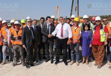 премьер-министр Бойко Борисов проинспектировал строительство Балканского потока