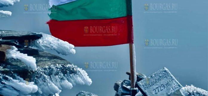 Сегодня ночью в Болгарии выпал первый снег