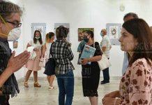 В Болгарии прошла выставка художницы из Украины