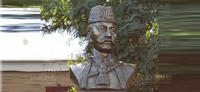 В Запорожье открыли памятник Хаджи Димитру