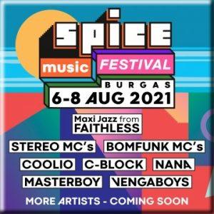 ФЕСТИВАЛЬ SPICE MUSIC 2021 в Бургасе