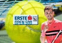 Григор Димитров на турнире ATP-500 в Вене
