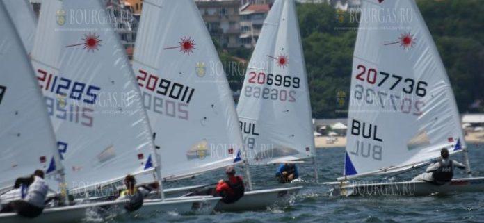 Кубок Европы по парусному спорту в классе Laser проходит в Варне