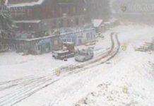 первый снег в Болгарии