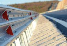 похитили ограждение на автотрассе Смолян - Девин