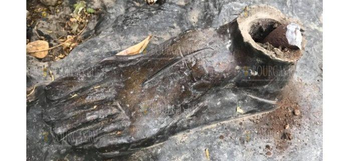 Полиция в Болгарии задержала человека, разрушившего скульптуру богини охоты Дианы
