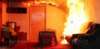 В Болгарии женщина погибла в пожаре