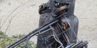 взрыв газового баллона в Болгарии