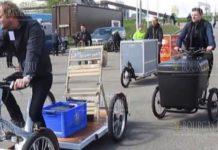 Грузовые велосипеды проходят испытания в Варне