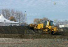 На Северном пляже в Бургасе снова строят дамбу
