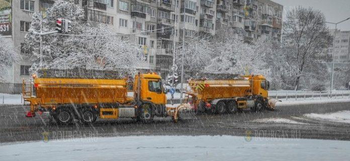 в Западной Болгарии выпал первый снег