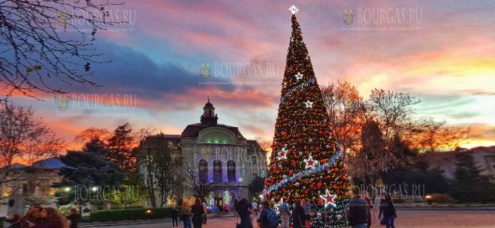 Сегодня в Софии зажжет огни Главная елка Болгарии